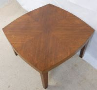 Coffee Table Deco Style Walnut Top Table